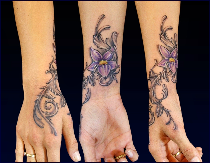 Dynamics Flower Tattoo
