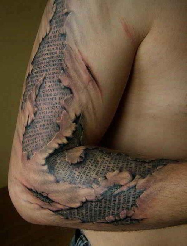 Tattoomix 3D inanilmaz dovme