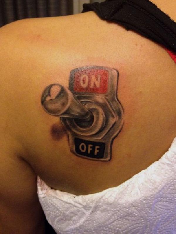 Switch 3D tattoo