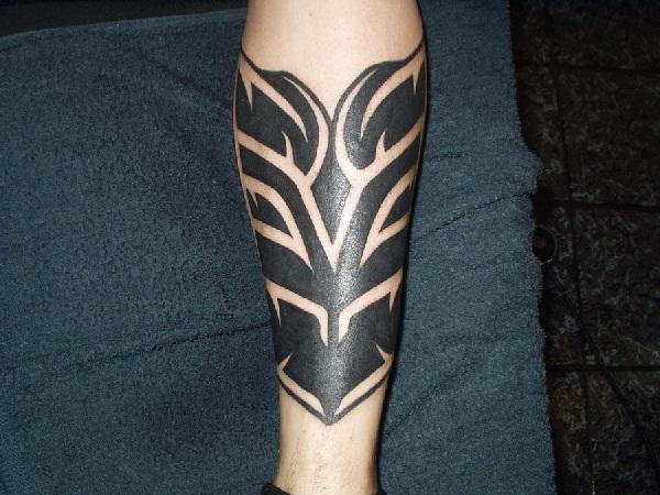 Tattoo tribal ornament 3d