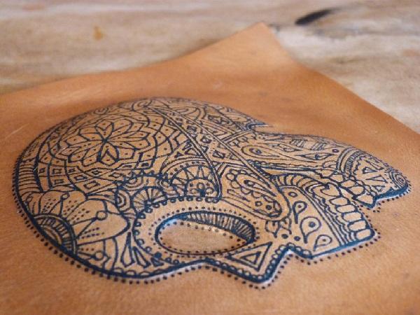 Sugar skull 3D Tattoo