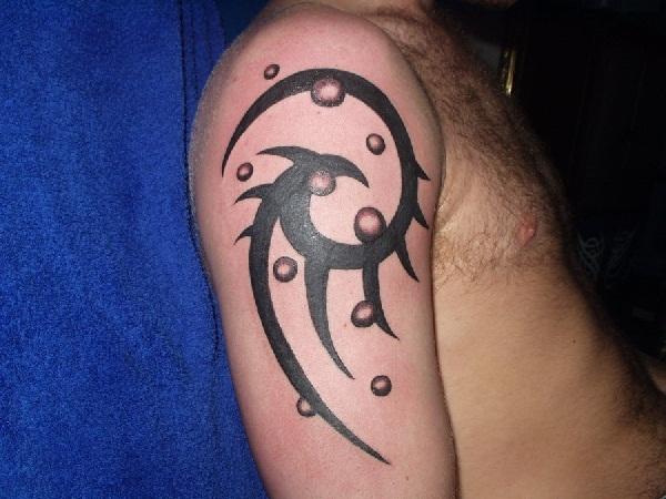 Tattoo tribal ornament