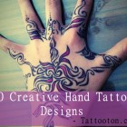 30 Creative Hand Tattoo Designs