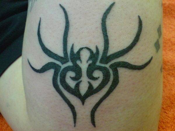 Amazing Spider Tattoo Designs