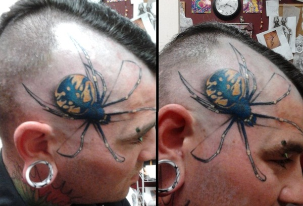 Amazing Spider Tattoo Designs