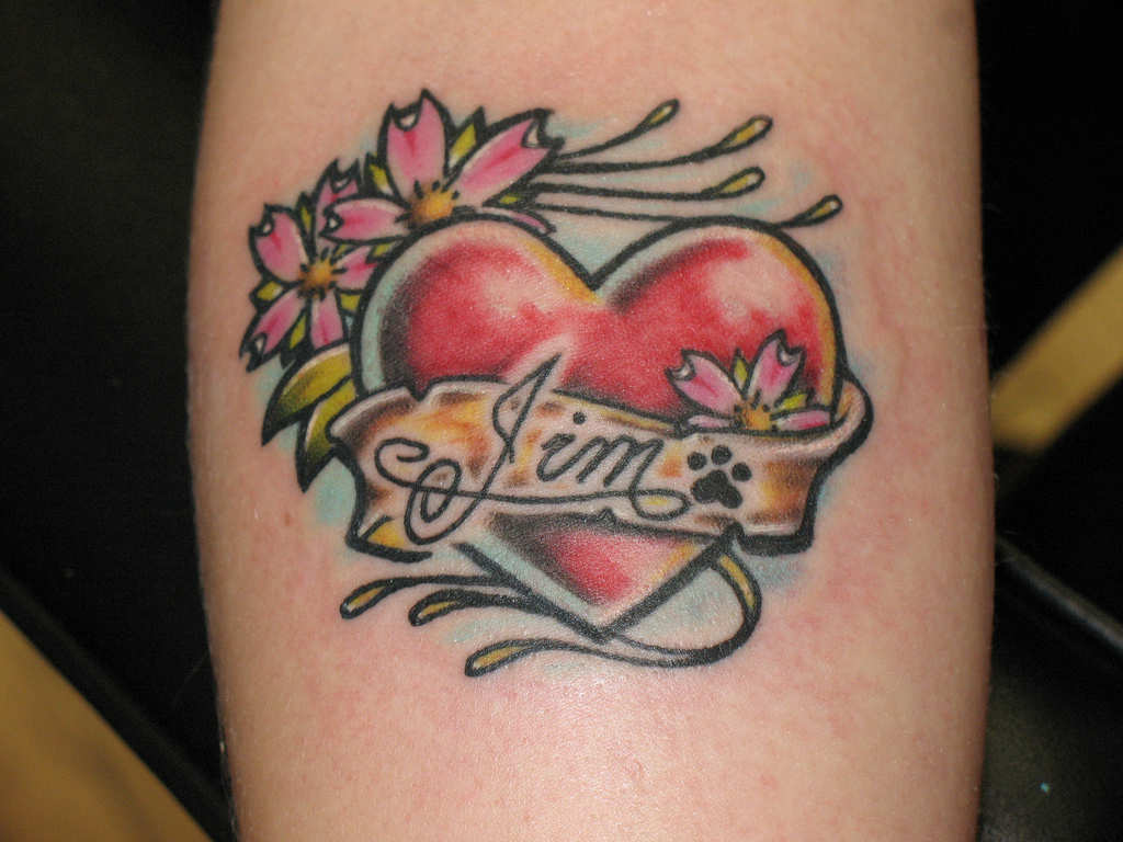 Classic Heart Tattoos