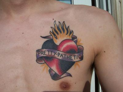 Heart Tattoo for Men