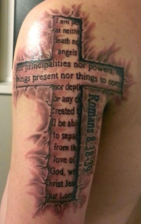 Cross Tattoos for Men (11)