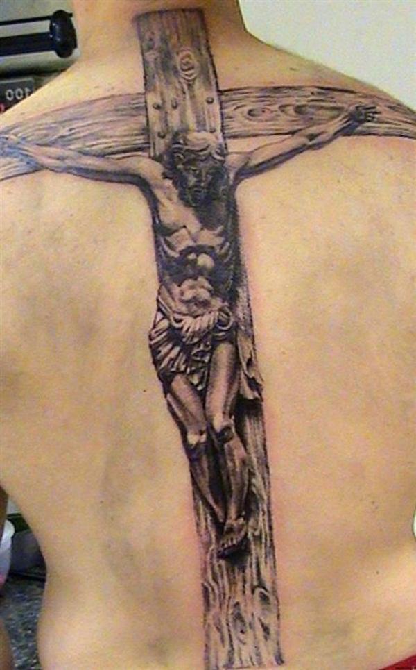 Cross Tattoos for Men (23)