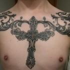 Cross Tattoos for Men (33)