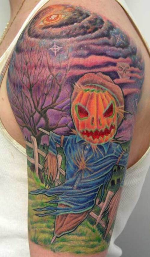 Halloween Tattoo Designs 1