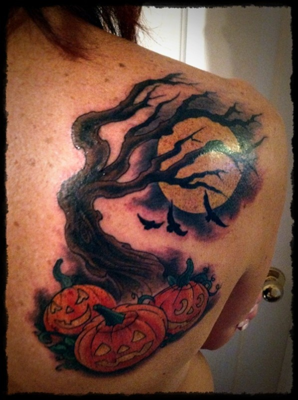 Halloween Tattoo Designs-11