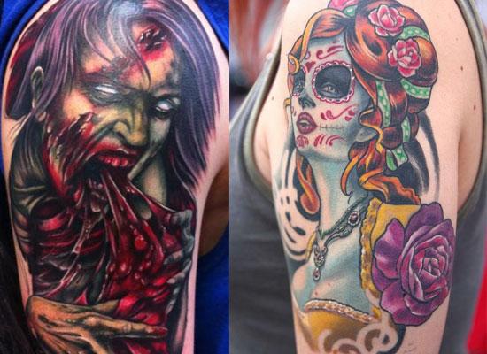 Halloween Tattoo Ideas: 30 Halloween Tattoo Designs