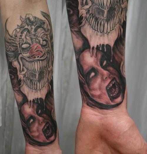 Halloween Tattoo Designs-21