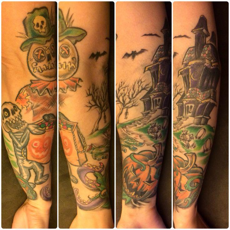 Halloween Style Tattoos: 30 Halloween Tattoo Designs