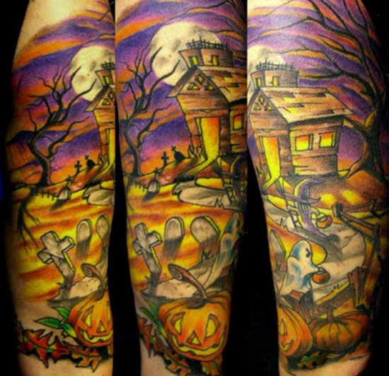 Halloween Tattoo Designs-4