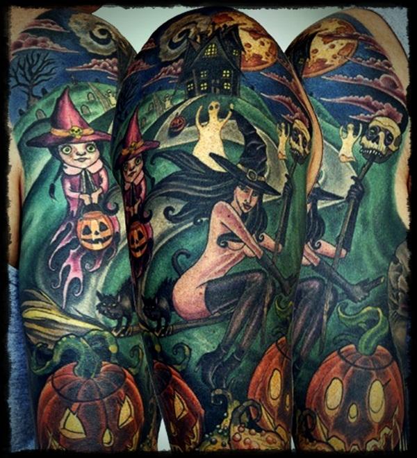 30 Halloween Tattoo Designs