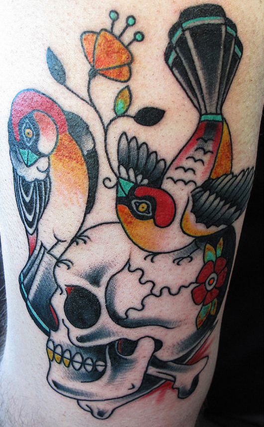 Halloween Tattoo Designs-7