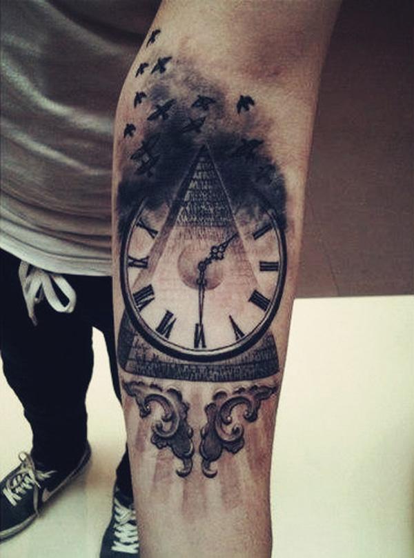 Tattoo Ideas For Men On Leg: 100 Best Tattoo Designs For Men In 2015