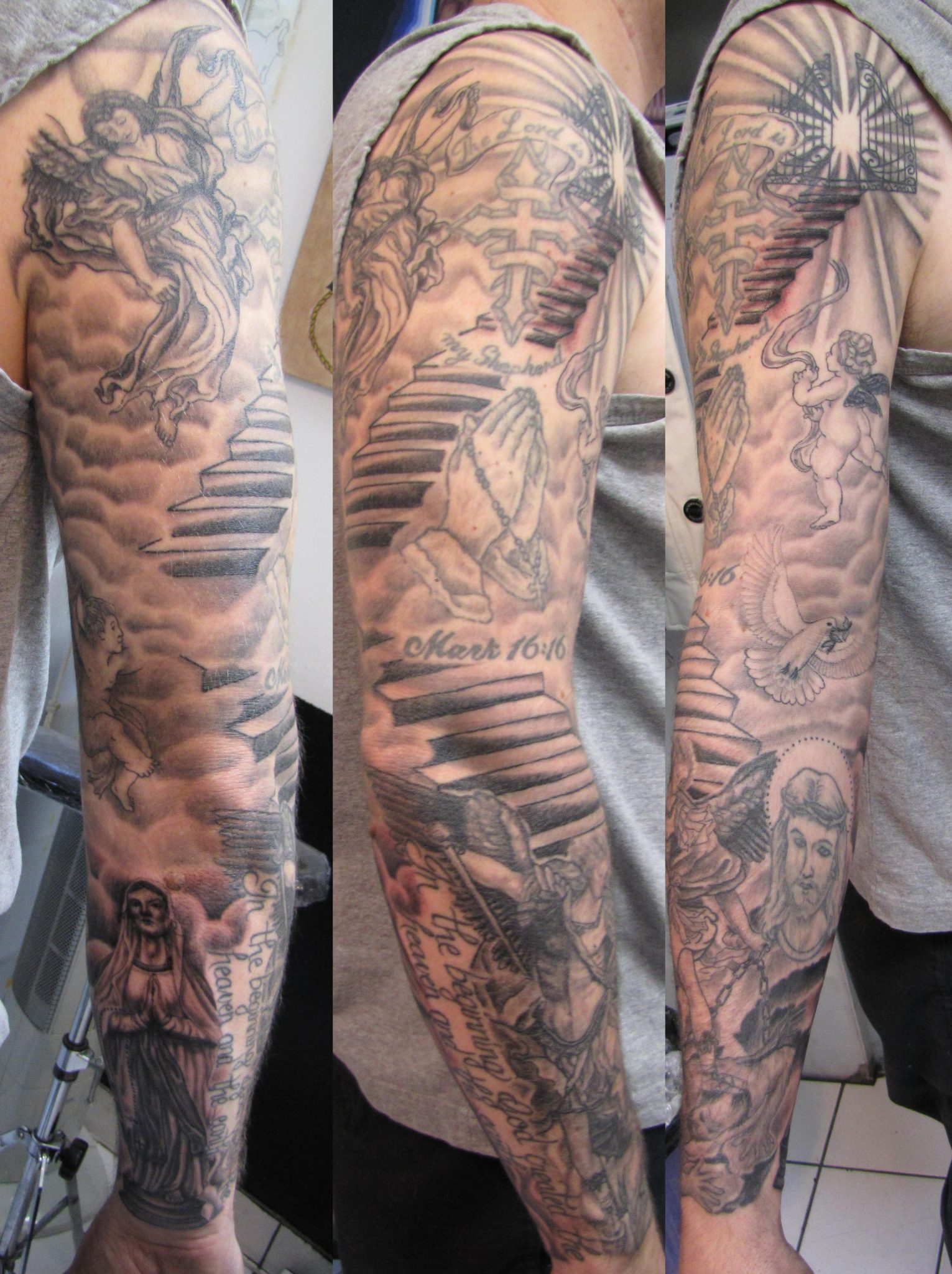 100 best tattoo designs for men in 2015 - Top 100 Tribal Tattoos For Men 2 227x650 100
