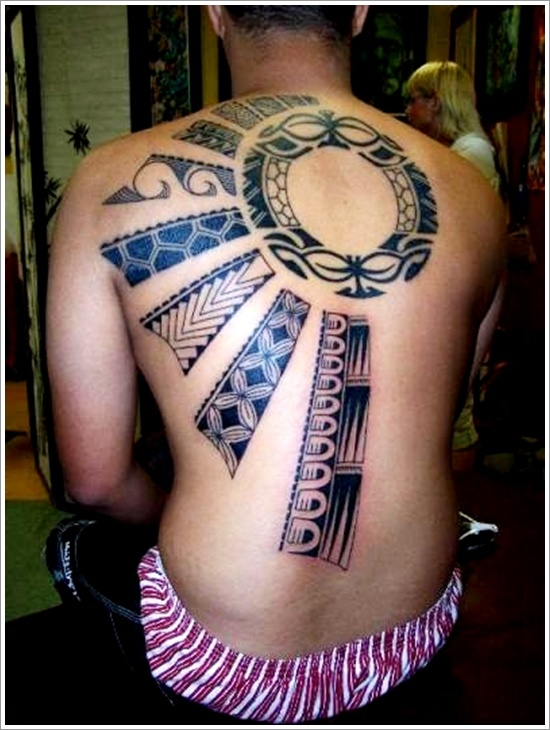 Traditional sun Tattoo-designs for men in 2015