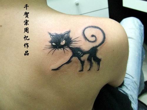 Cat Tattoo Design.18