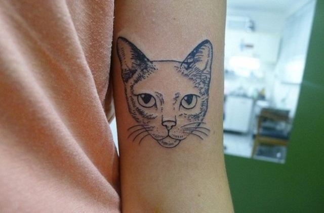 Cat Tattoo Design.21