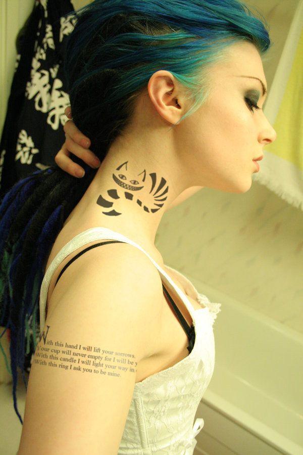 Cat Tattoo Design.22