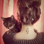 Cat Tattoo Design.23