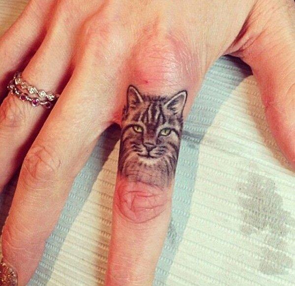 Cat Tattoo Design.25
