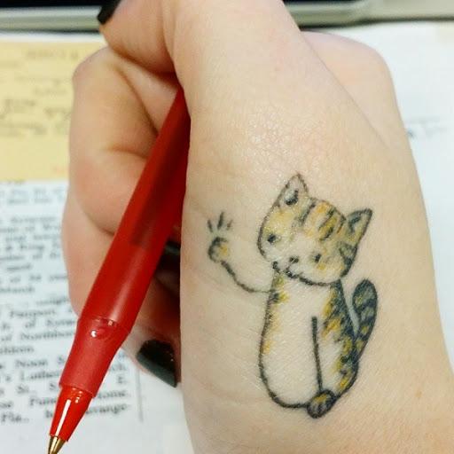 Cat Tattoo Design.29