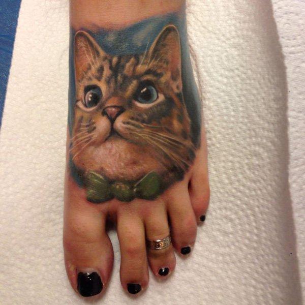 Cat Tattoo Design.30
