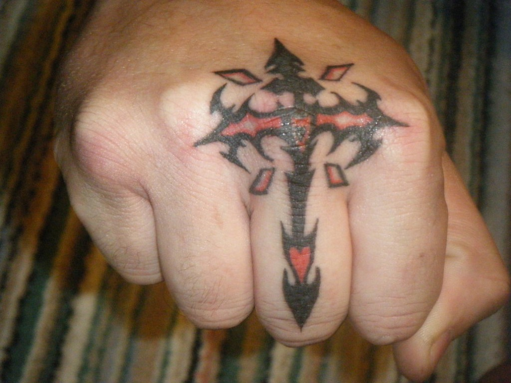 Cross Tattoos for Men.121