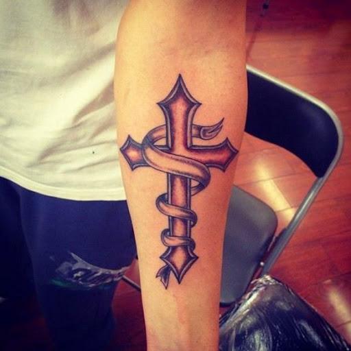 Cross Tattoos for Men.122