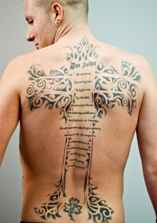 Cross Tattoos for Men.132