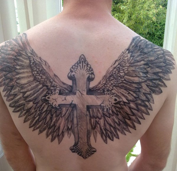 Cross Tattoos for Men.135