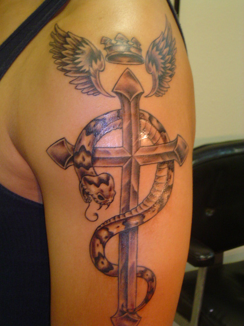 Cross Tattoos for Men.138