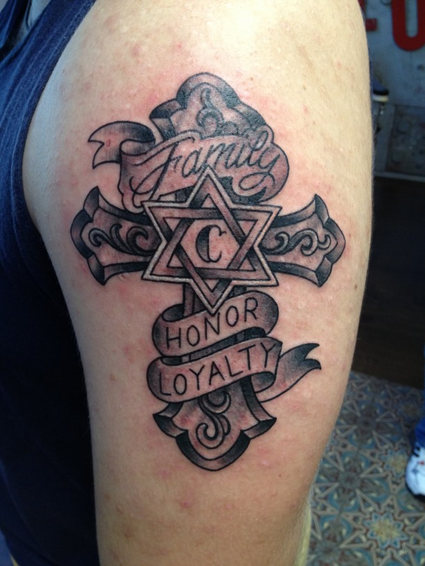 Cross Tattoos for Men.150