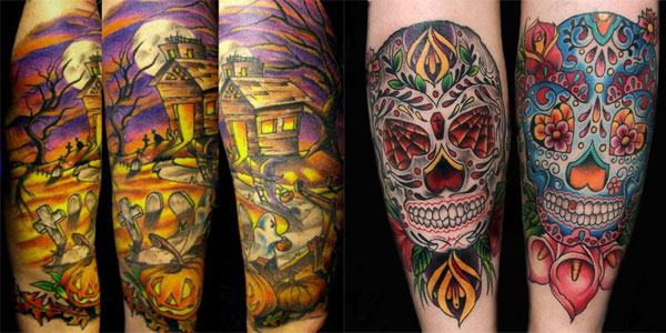 Halloween Tattoo Designs102