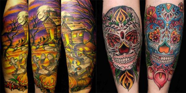 Halloween Tattoo Designs102