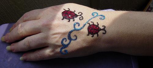 Ladybug Tattoo Designs-14