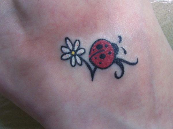 Ladybug Tattoo Designs-16