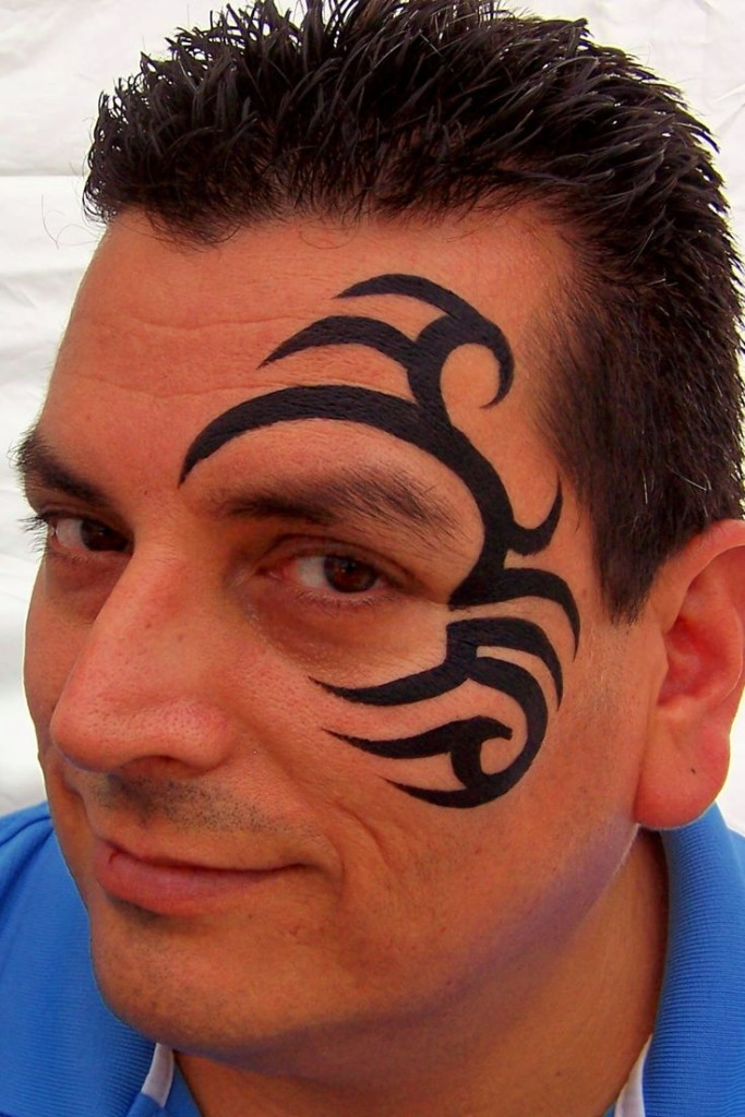 Tyson Face Tatoo: 10 Best Face Tattoo Designs For 2015