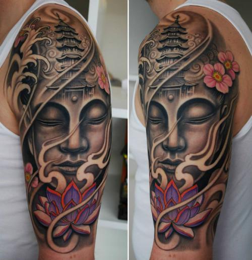 Buddha Tattoo Designs.10