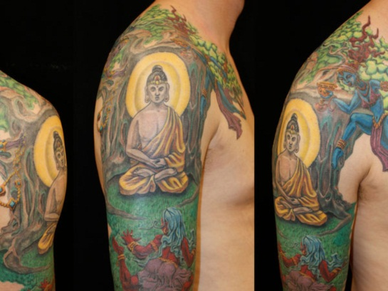 Buddha Tattoo Designs.11