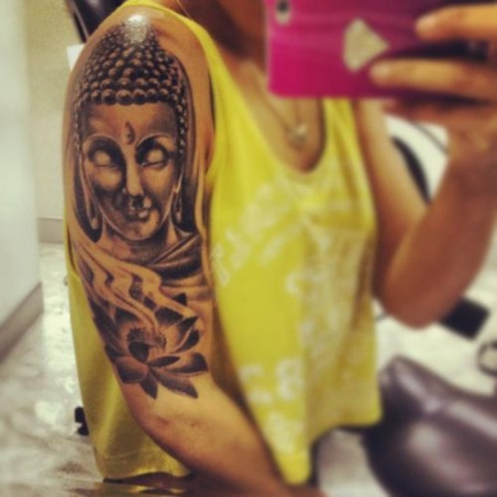 Buddha Tattoo Designs.15