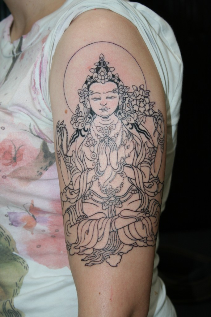 Buddha Tattoo Designs.16