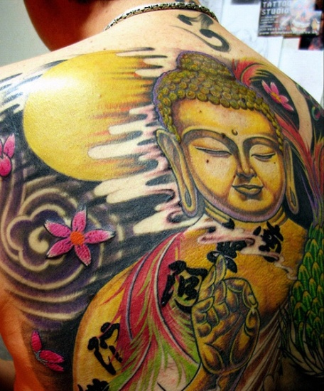 Buddha Tattoo Designs.2