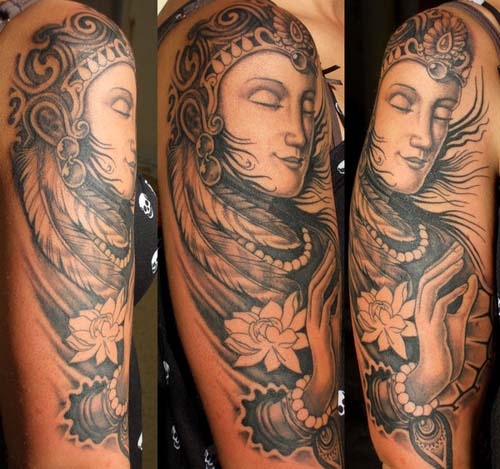 Buddha Tattoo Designs.3