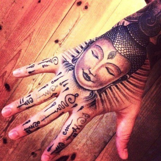 Buddha Tattoo Designs.37